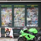 Blad kiosk, Foto: Charli