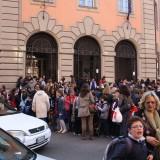 Kommuneskolen lukker og ungerne bliver hentet på gaden, Foto: Charli