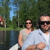 Hytten, jeg og Jesper Westmark