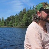 Jesper Westmark under den guidede meditation   Photo: Charline Skovgaard