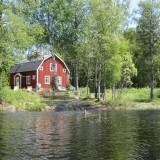 Huset set fra kajakken   Photo: Charline Skovgaard