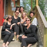 Hele holdet, som kun var piger denne gang   Photo: Charline Skovgaard