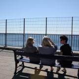 En sidste stund i Danmark før færgen tager os til Sverige   Foto: Charli