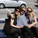 Rikke, Christa og Pernille..skønne kvinder!    Foto: Charli