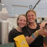 Mine skønne veninders børn, tjente til Roskilde biletten i Meyers køkken  Foto: Charli