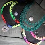 Små halskæde tasker fra Ekeko/Bolivia   Foto; Charli