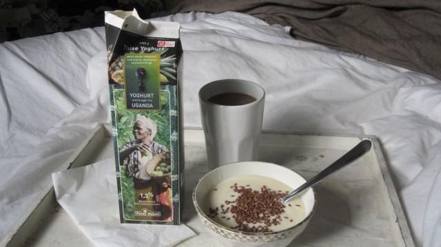 Uhmmm, lækkert at vågne til sund morgenmad med smuk udsigt   Foto: Charli