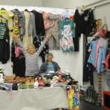 Kampklare sælgere    Foto; Charli