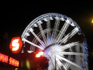 Pariserhjul ved Vesterbro Foto; Charli