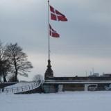 Søerne i København helt tilfrosne  Foto; Charli