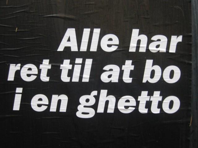 Ghetto citat  Foto; Charli
