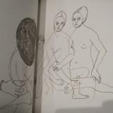 Cathrines tegninger    Foto; Charli