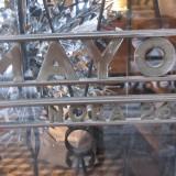 Enestående oprindelig dørhåndtag   Foto; Charli