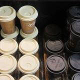 En eneste to-go latte jeg er stødt på i Italien   Foto; Charli