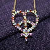 Peace, kærlighed og kvindetegn i ét POWERtegn   Foto; Charli