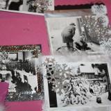 Glimmer, bånd, fotos, og stempler   Foto; Charli