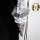 Hænger til tørre på dørhåndtag    Foto: Charli