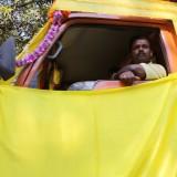 Alt pyntet op til Hindu party   Foto; Charli