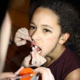Sort tandlak skal der til     Foto: Charli