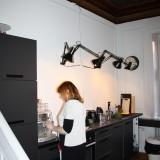 Lene Bertung laver god kaffe    Foto: Charli