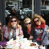 Miranda, Carrie, Charlotte og Samantha