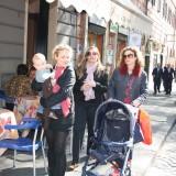 På bytur med Mirandas baby