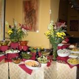 En lille del af den store buffet på Mokarabia