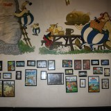 Alt indretning er i Obelix stil    Foto: Charli