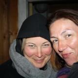 Christa og jeg, klar til nattens meditation  Foto. Charli