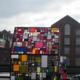Kunst-mosaikhus ved den Sorte diamant   Foto: Charli