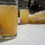 Sweet ginger honey tea for welcome at Norbu Sangpo i Bhaktapur    Photo: Charli