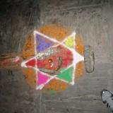 Farverig mandala           Photo: Charli