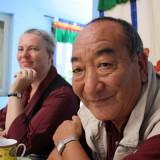 Ægteparret Pia Lakha Kryger og Lakha Lama     Photo: Charli