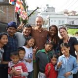 Vidunderligt træf med børnehjems ungerne og Adams kæreste fra NY    Photo: Charli