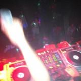 View fra DJ pulten på taget    Photo: Charli