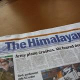 Jubiiii, endelig er vi i Himalaya      Photo: Charli