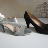 Grå fra Perfekt sko/Charisma 1200,- Sort Peep-toe fra Perfekt sko til 1400,-