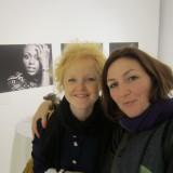 Camilla og jeg glade for at se resultatet   Foto: Fairstyles