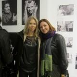 Fotografen Lizette Mikkelsen stolt af udstillingen    Foto: Fairstyles