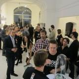 Presse og ambasadører på Galleri Asbæk    Foto: Fairstyles