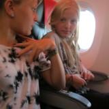 Mine små 13 årige engle, glæder sig helt utroligt   Foto: Charline Skovgaard