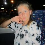 Fiona, vel placeret i bussen. Træk men meget spændt.     Foto: Charline Skovgaard