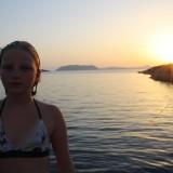 Carlas solnedgang   Photo: Charline Skovgaard