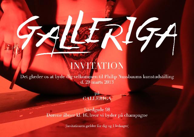 Invitation Galleriga