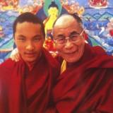 Karmapa og Dalai Lama som screensaver på min iphone    Photo: Charlisblog