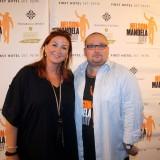Charline Skovgaard og Michael Hougesen, den hårde kerne ;-)    Photo: Naja Peabody