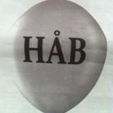 Dagens avis af ballon   Photo: Charli Skovgaard