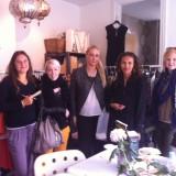 Nogle af mine fantastiske piger, strygepiger og stylist assistenter  Photo: Charli Skovgaard