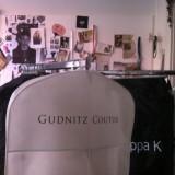 Couture designer Rikke Gudnitz harleveret den fineste kjole  Photo: Charli Skovgaard