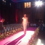 Jesper Høvring lavde denne fantastiske haute couture dragt til showet   Photo: Charli Skovgaard